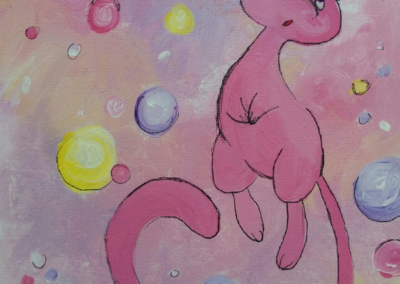 Pokemon Mew Painting