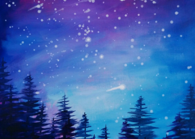 Shooting Star Painting