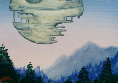 That's No Moon Painting