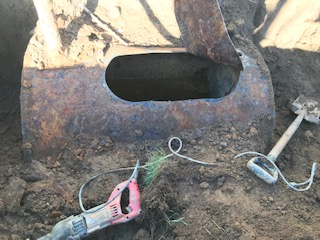 Underground Home Fuel Tank Decommissioning