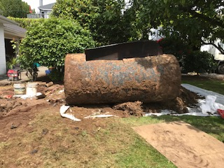 remove or decommission an unused home heating oil tank