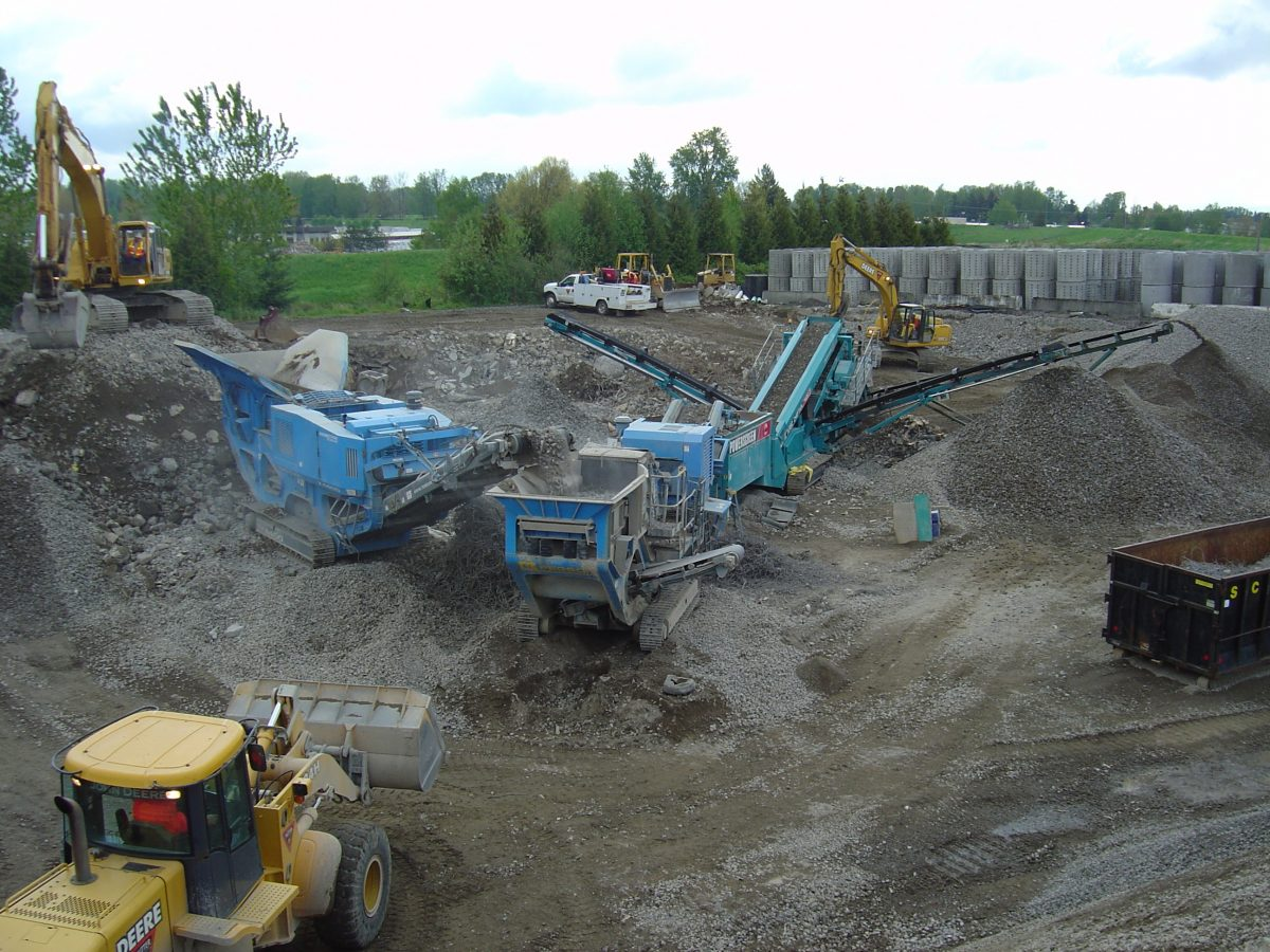Crushing in Portland, OR commercial and residential