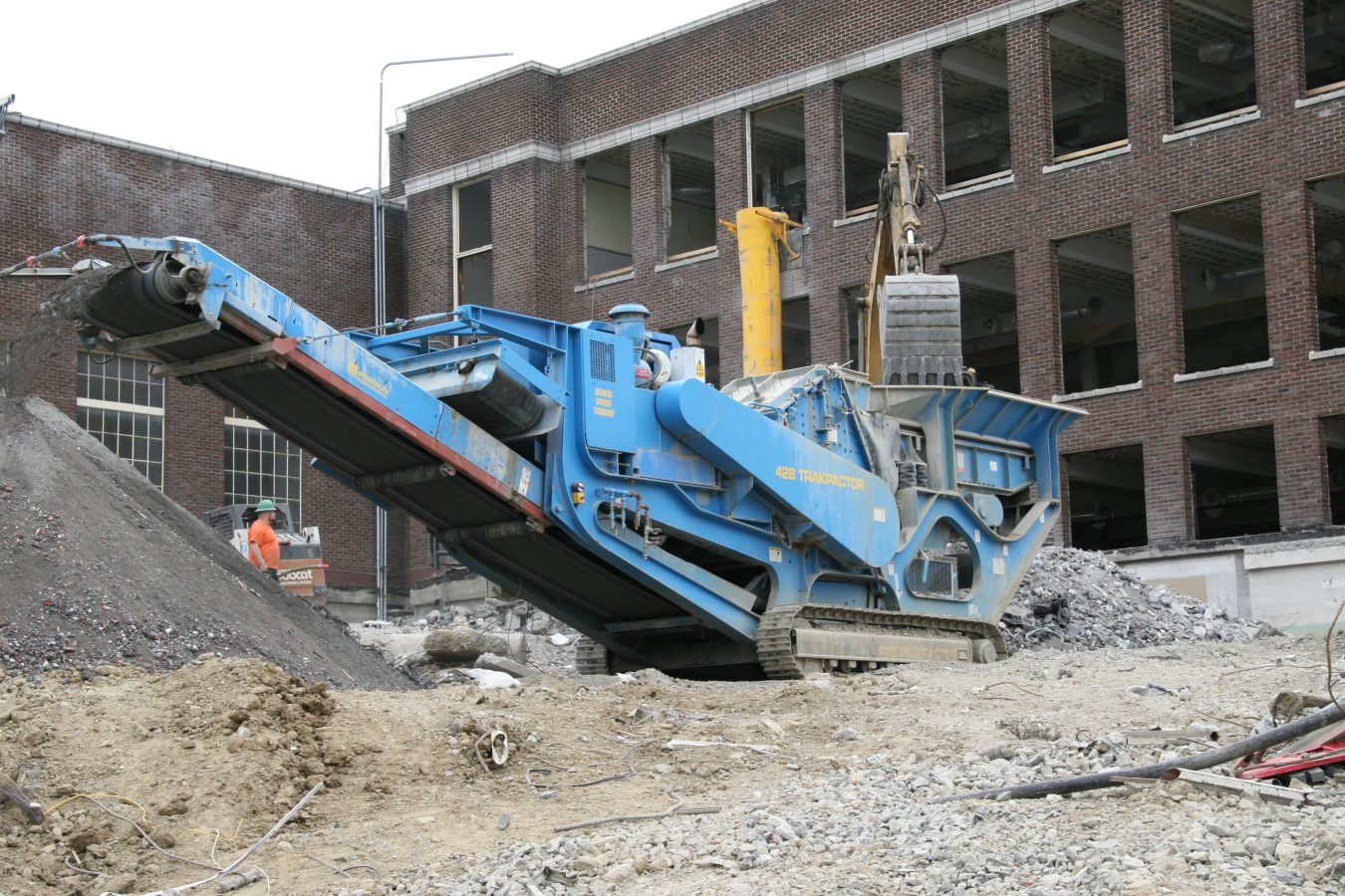Crushing services and general contracting Vancouver, WA