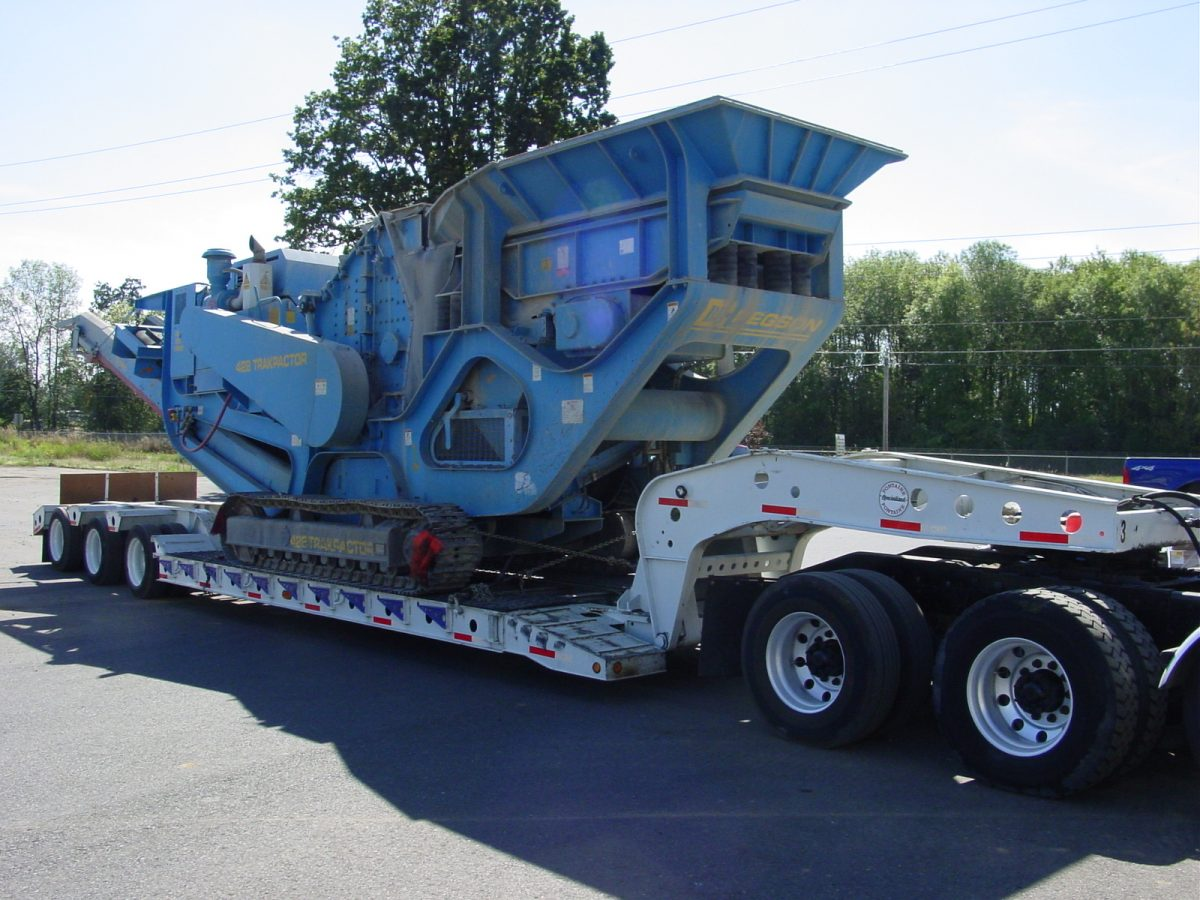 Crushing services in Vancouver, WA, Walla Walla, WA and Portland, OR