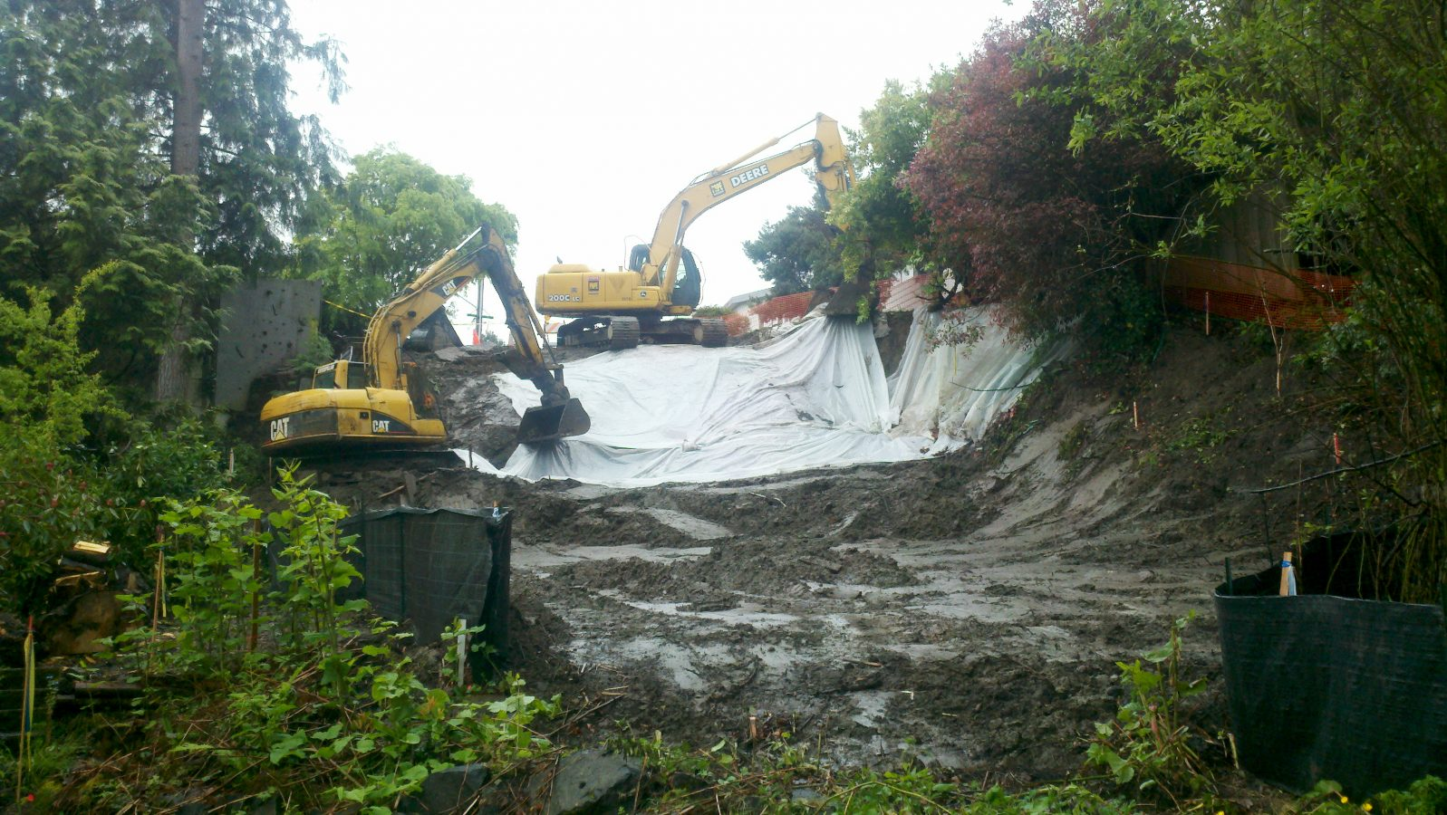 Excavating services in Vancouver, WA and Portland, OR
