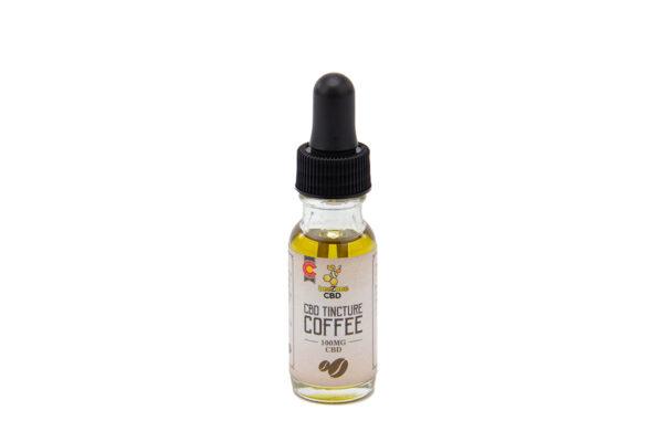 beeZbee CBD 100mg Tincture Coffee