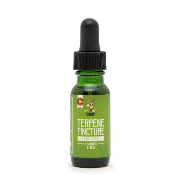 CBD Terpene Tincture 550mg   beeZbee
