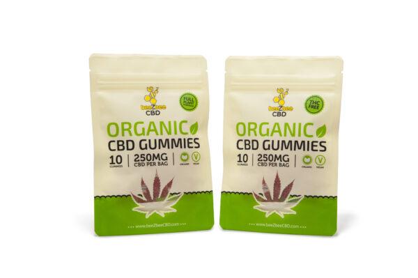 CBD Organic Gummies 250mg | beeZbee