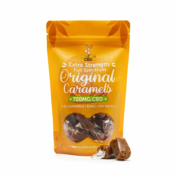 CBD Caramel Bag 720mg | beeZbee