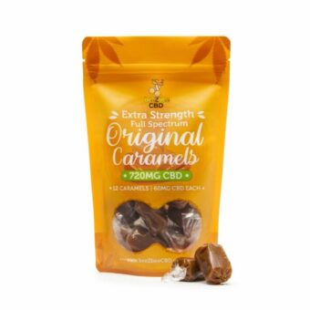 CBD Caramel Bag 720mg | beeZbee