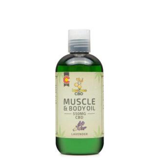 CBD Body Oil 550mg | beeZbee