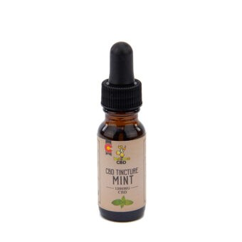 beeZbee CBD Tincture 1200mg 15ml Mint