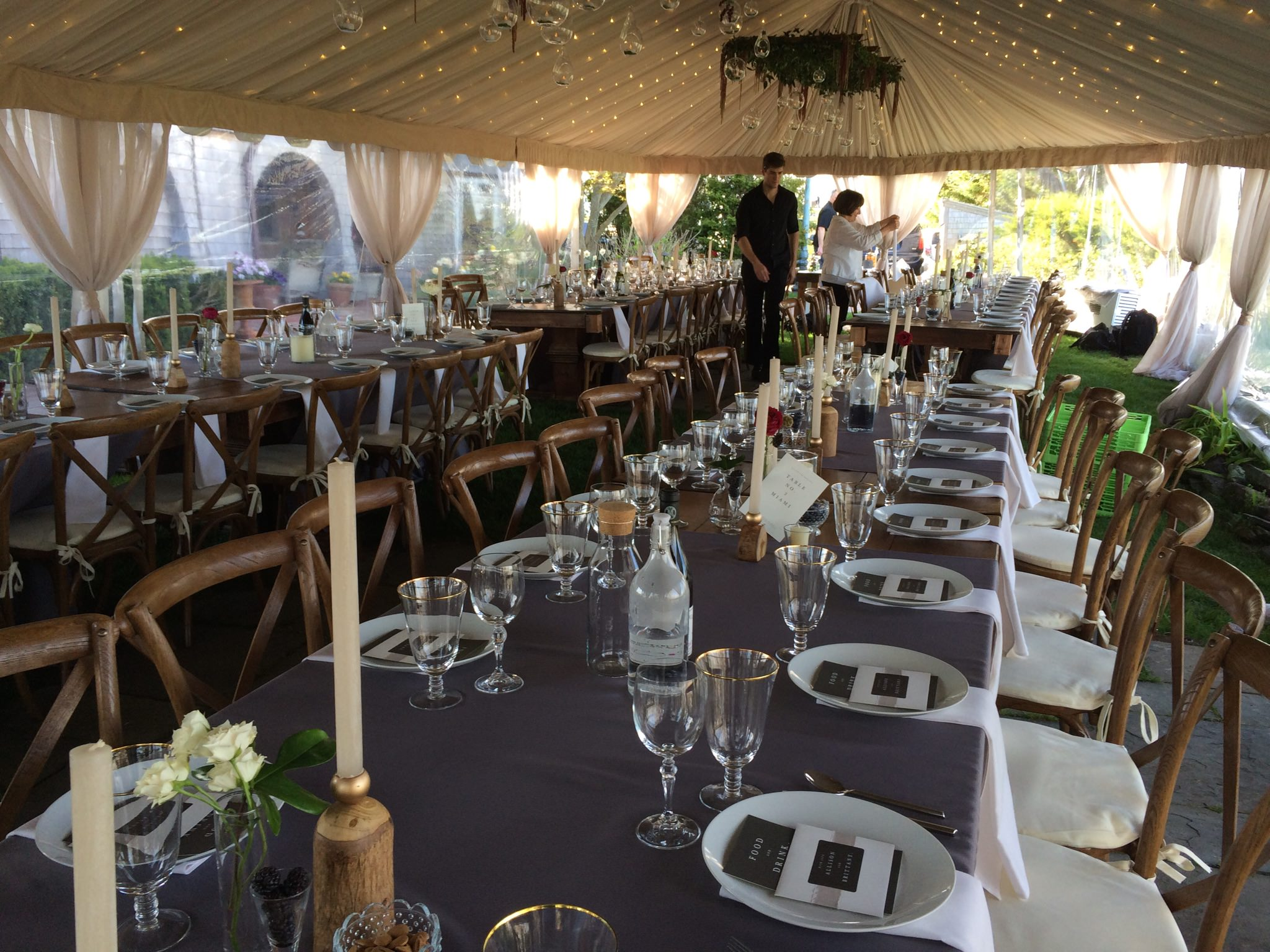 Cater tent pic