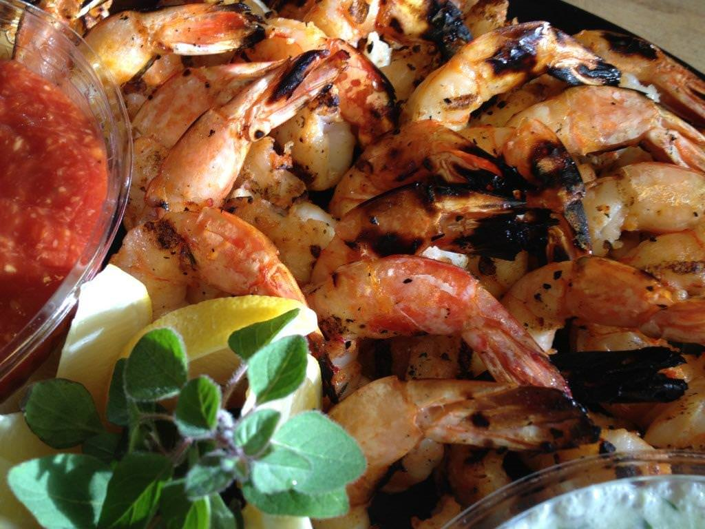Grilled Shrimp Platter