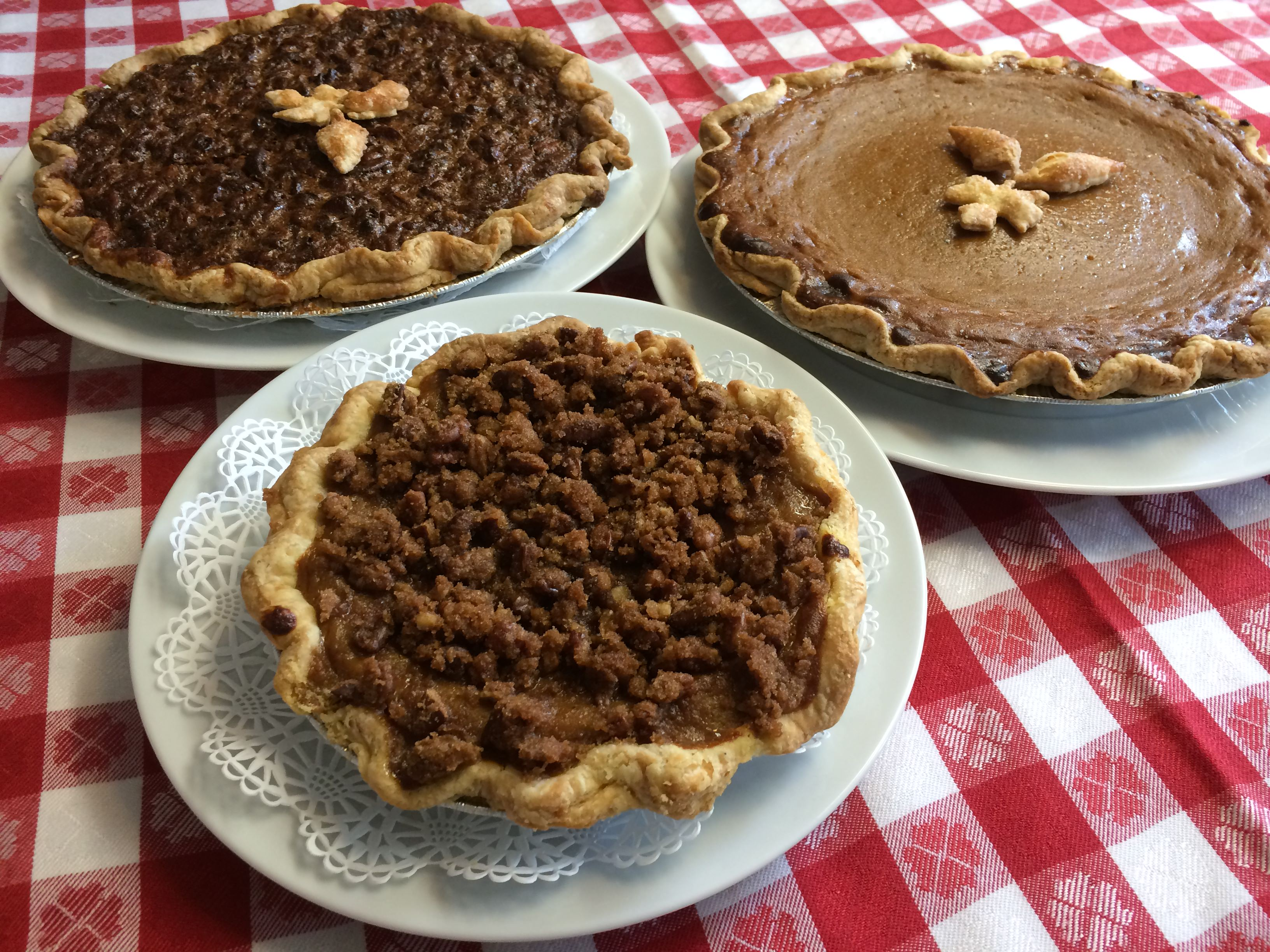 Fall pies