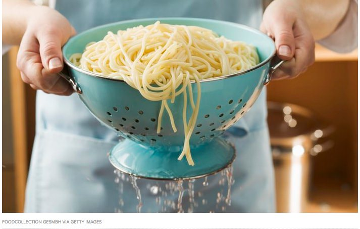 Pasta Cooking Tip from the Huffington Post