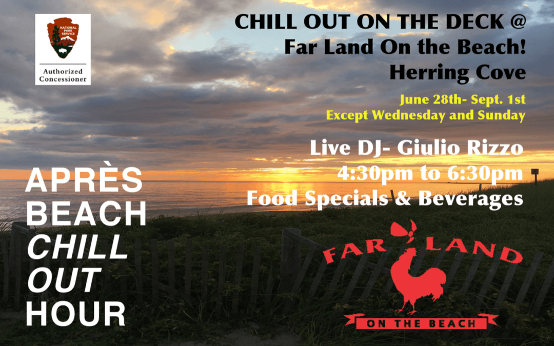 LIVE DJ – Every Afternoon @ Far Land on the Beach