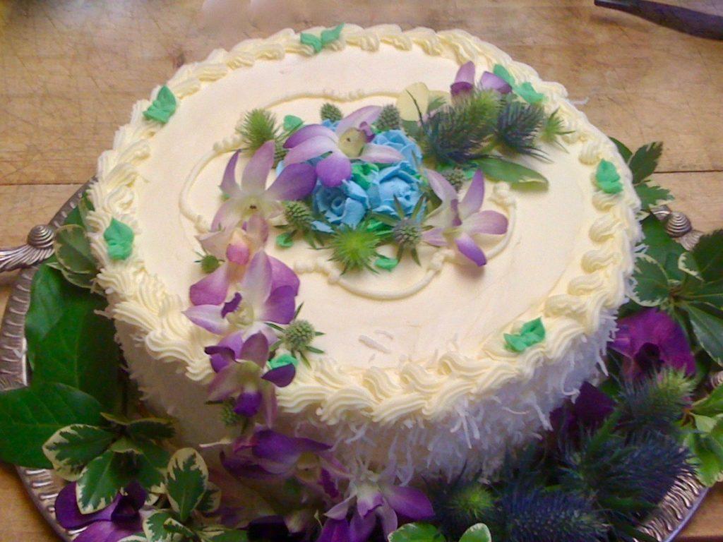 Wedding Floral Cake (1)