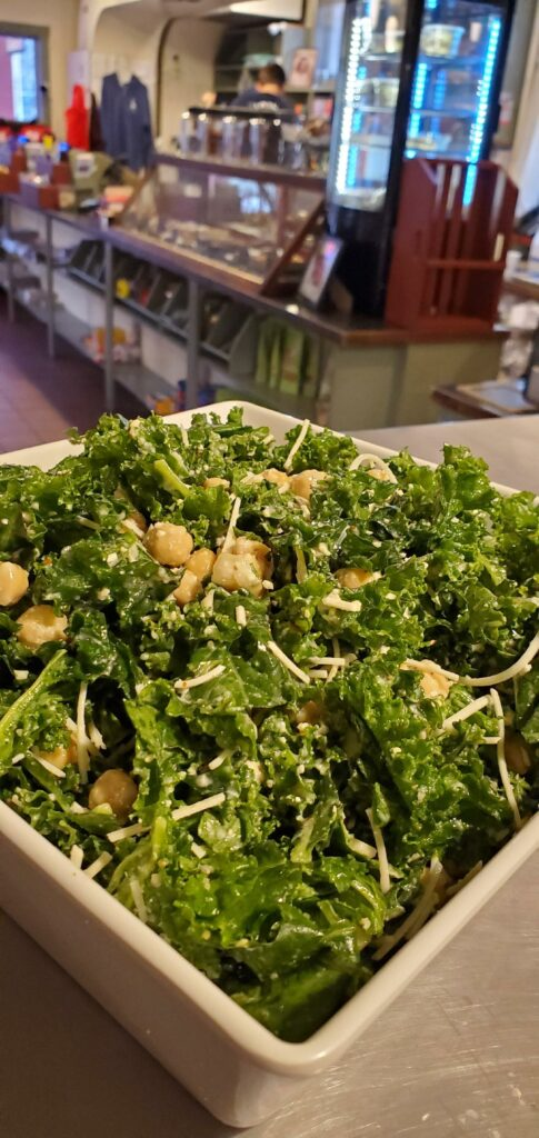 Far Land Provisions Kale Chickpea Salad