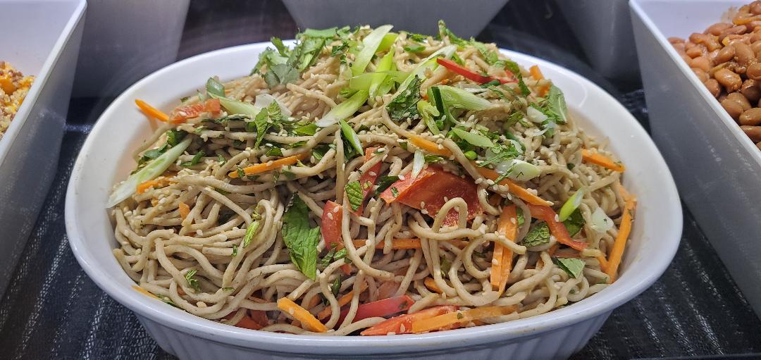 Far Land Provisions Peanut Soba Noodle Salad