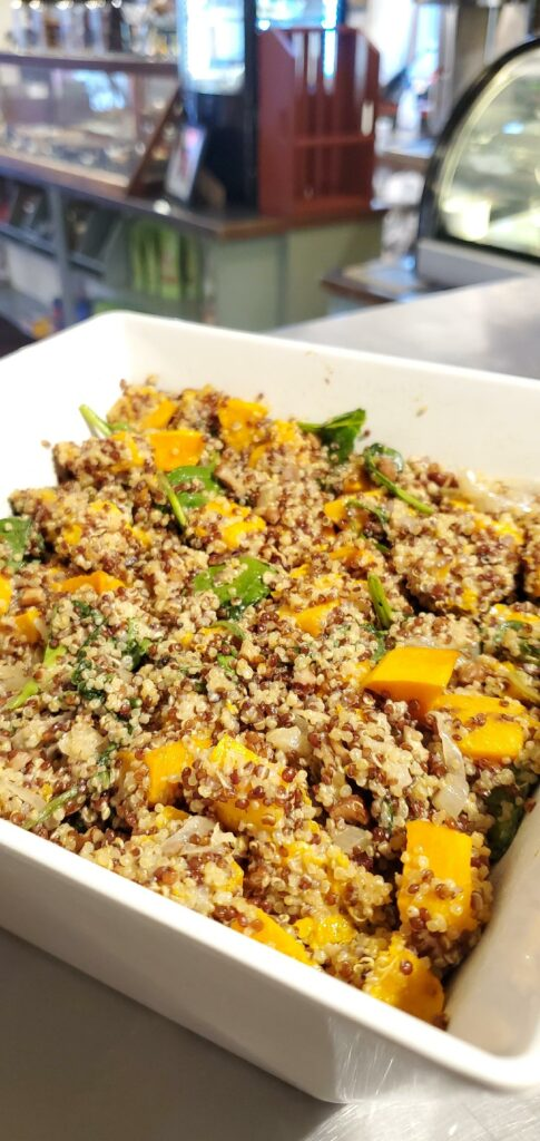 Far Land Provisions Quinoa Butternut Squash Salad