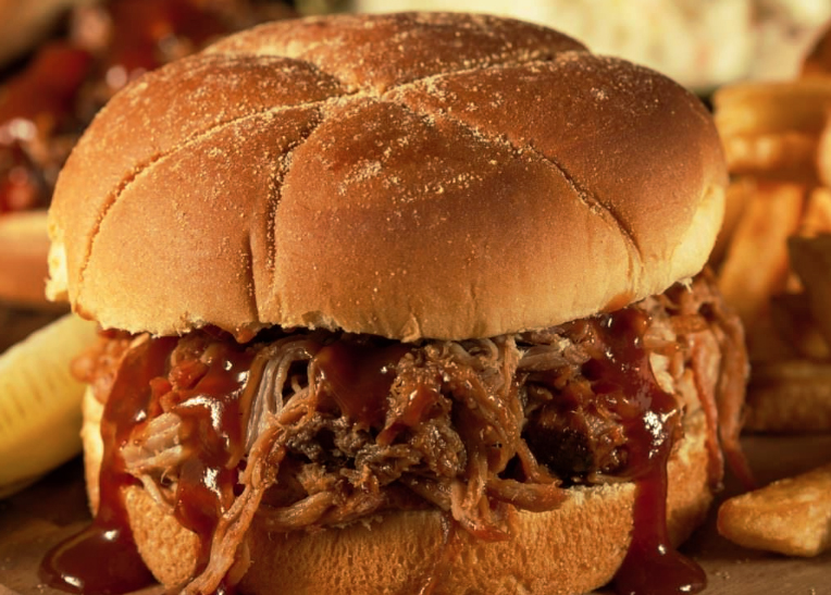 Far Land Provisions Barbecue Pulled Pork Sandwich