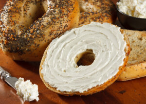 Bagels w/ Cream Cheese