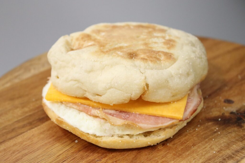 Ham Egg & Cheese English Muffin