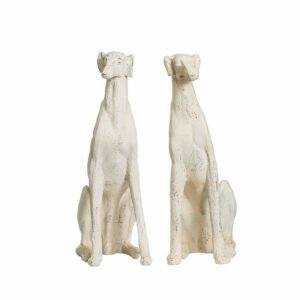 Magnesia Dog, Distressed Cream Color