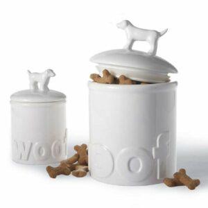"""Woof"" Treat Jar"