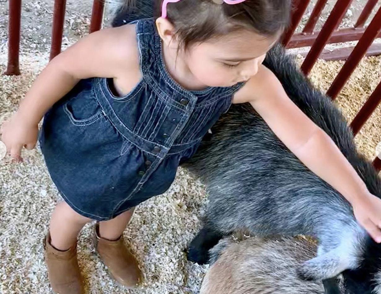 Girl on Farm