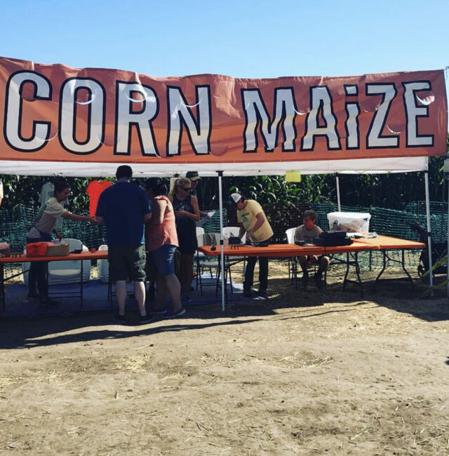 Corn MaiZe Entrance