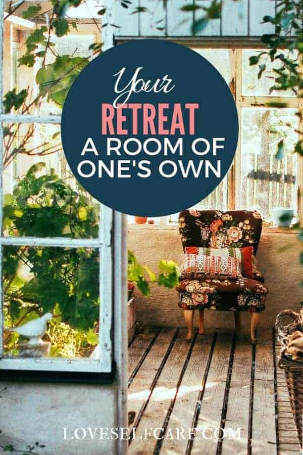 "Interested in ideas for a room of your own? Do tiny houses, ""She Sheds"" or just a place to relax in peace sound awesome? If the answer is yes, check this out!  https://loveselfcare.com/your-retreat-a-room-of-ones-own/"