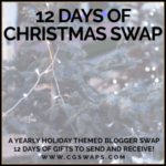 CGSWAP 12 Days of Christmas Reveal