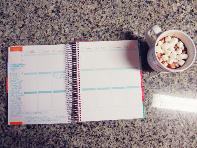 planner, blogging, behind the scenes