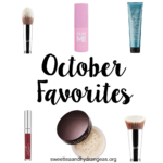 October 2016 Favorites