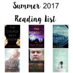 Summer 2017 Reading List