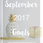September 2017 Goals
