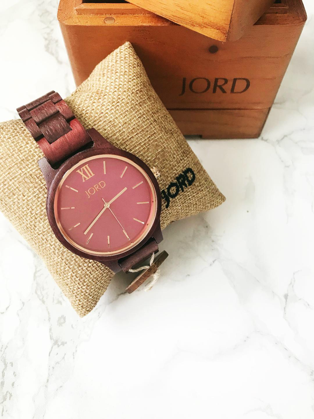 Jord Watch Purpleheart & Plum