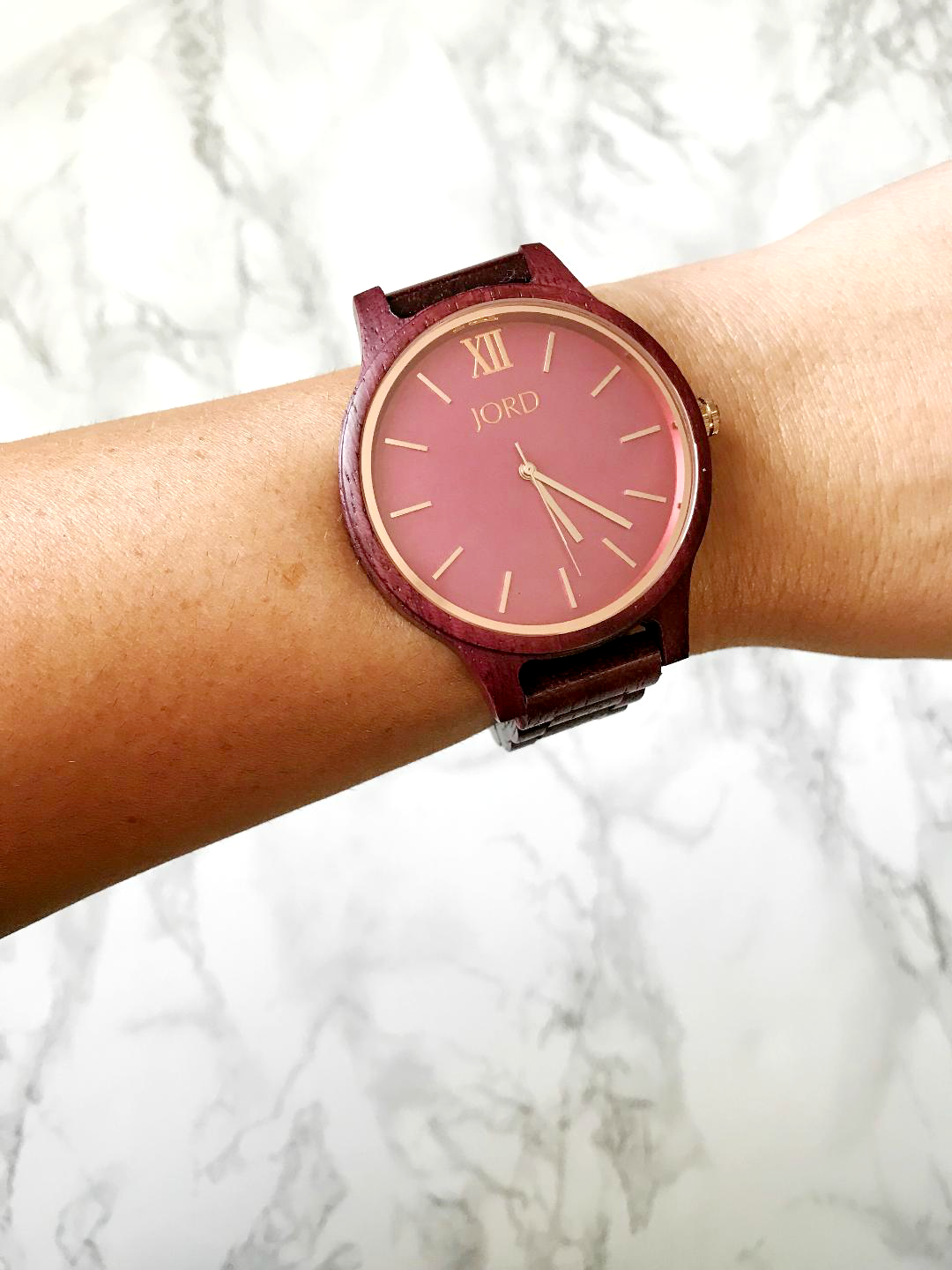 STH JORD Purpleheart & Plum Watch