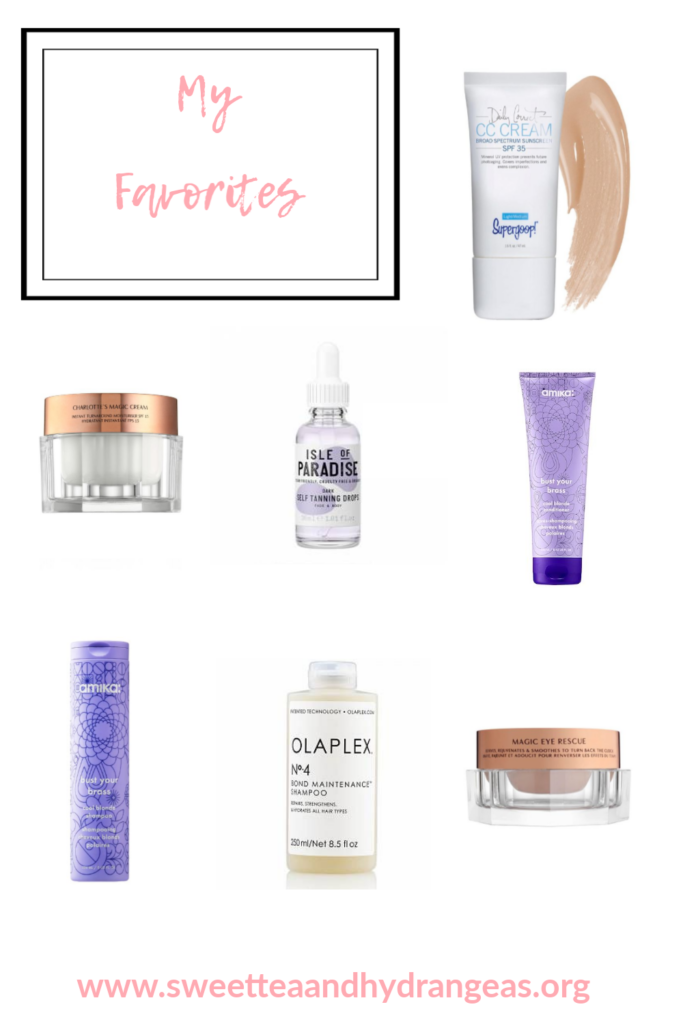 Sweet Tea Hydrangeas Sephora Spring Sale 2020 Favorites