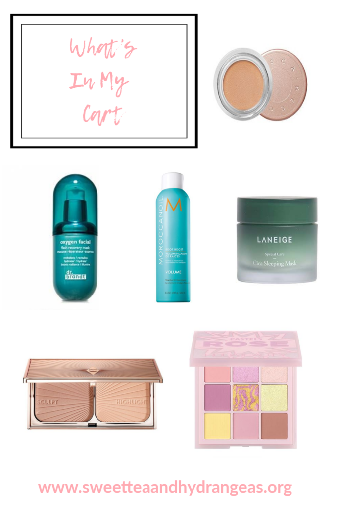 Sweet Tea Hydrangeas Sephora Spring Sale What's In My Cart