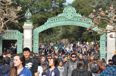 UC Berkeley Transfer Sather Gate
