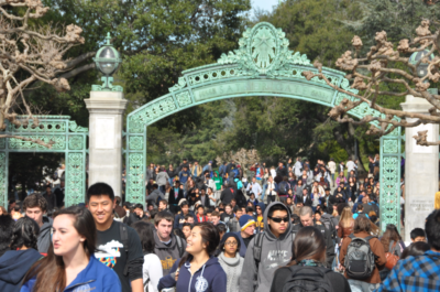 UC Berkeley Transfer Sather Gate