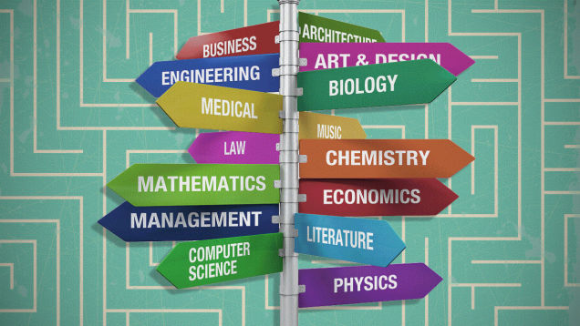Popular Majors At Different UCs