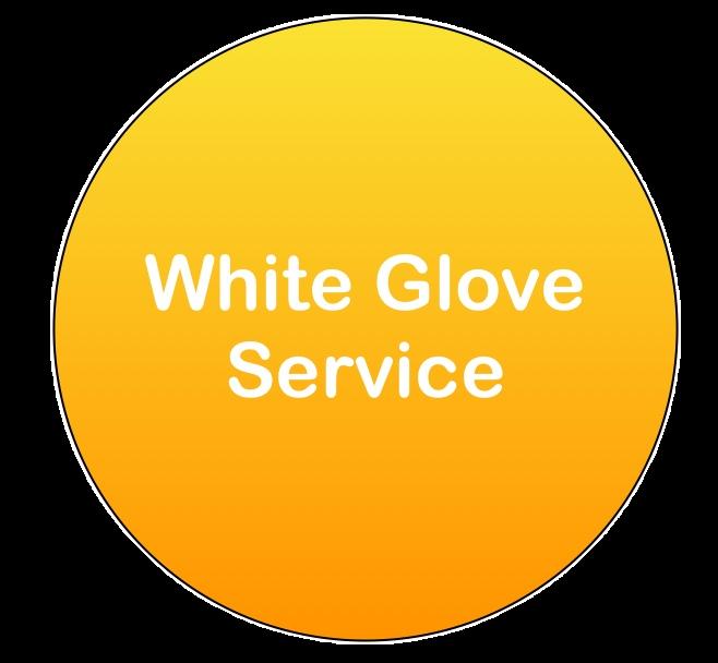 white glove service