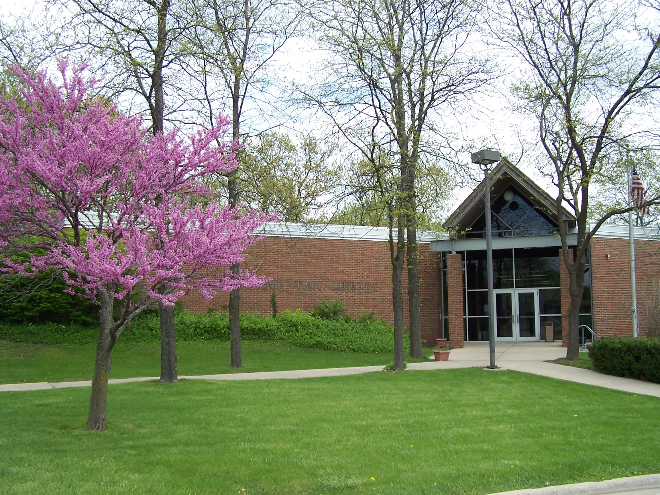 Shorewood-Troy Library spring