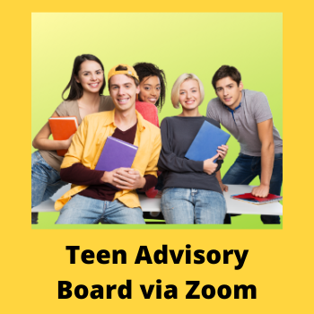 teen advisory board TAB via zoom