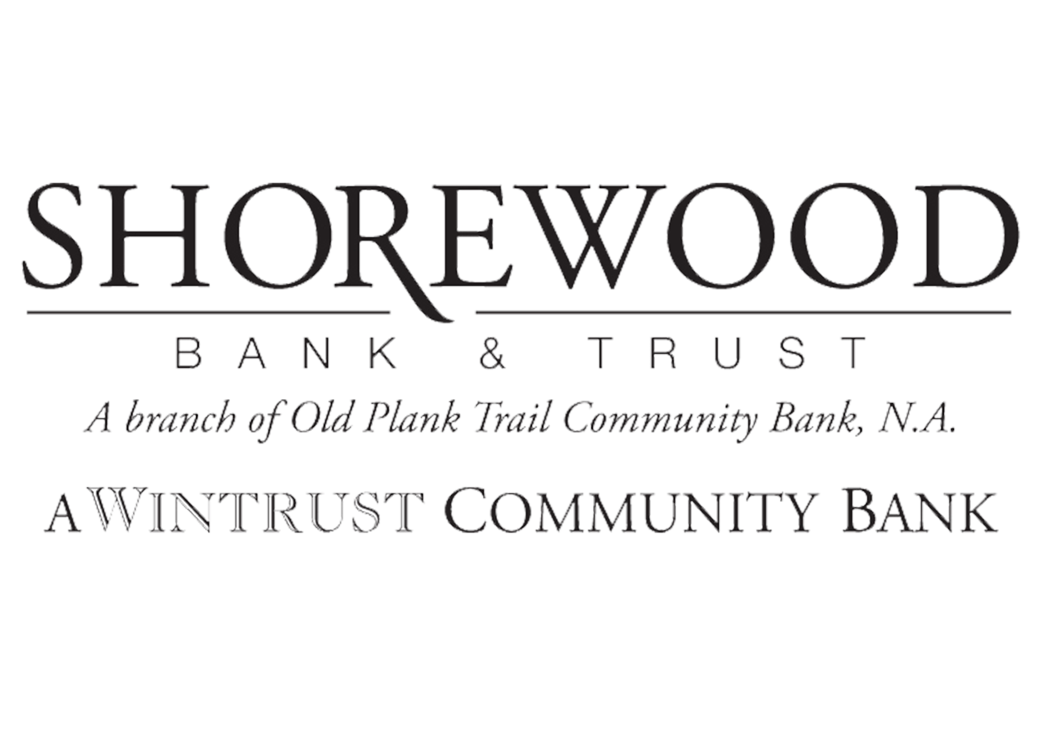 Silver Sponsor Shorewood Bank and Trust