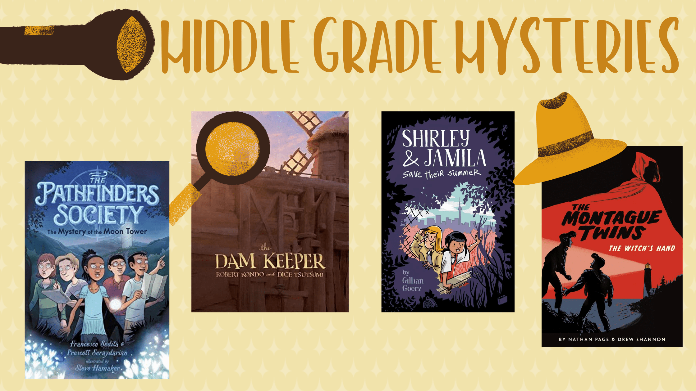 Get A Clue: Mysteries for Middle Graders